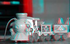 Anaglyph from shooting