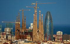 Barcelona desde Parc de Monterols