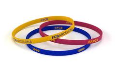 Bracelets Futbol Club Barcelona | Client: MACS